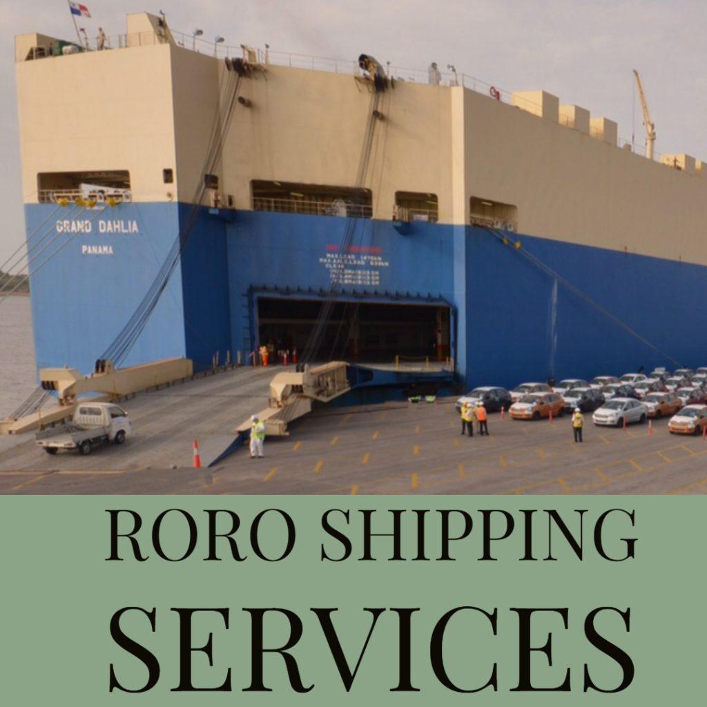 RORO shipping services in Dubai and UAE