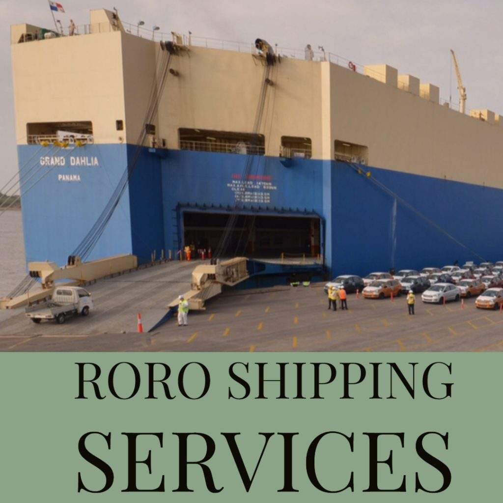 RORO shipping services in Dubai and UAE