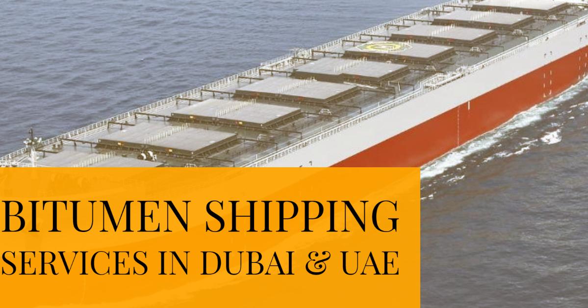 bitumen shipping services in dubai